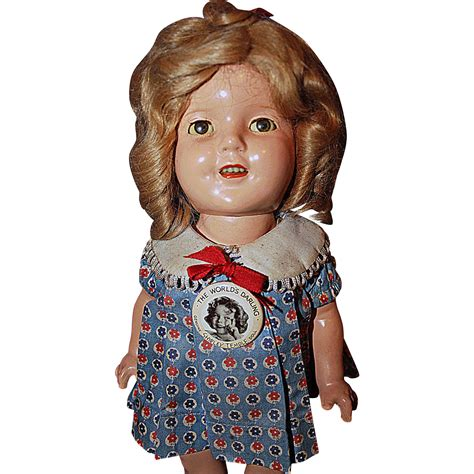 composition doll shirley temple composition doll from sarabernsteindolls on
