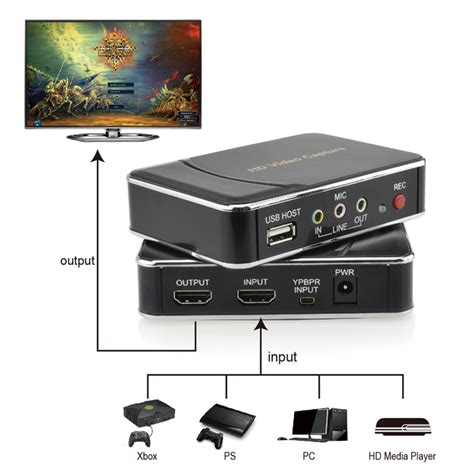 hd recorder br106 high definition hdmi ypbpr recorder hd capture