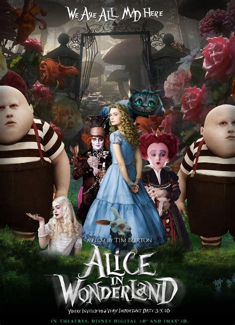alice in wonderland film themes fun آليس درسرزمين عجايب درصدرنامزدهاي جوايز 2010 تصاویر
