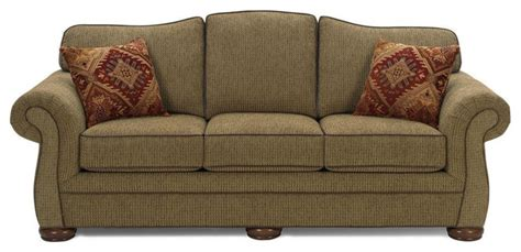 Traditional Fabric Sofas by Custom Upholstered Fabric Sofa St Louis Traditional