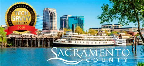 Records Sacramento County Sacramento County Earns Tech Savvy Designation