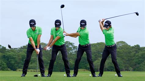 new golf swing swing sequence danny lee photos golf digest