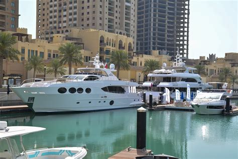 boat sale doha gulf craft exclusive preview of luxury yachts in doha