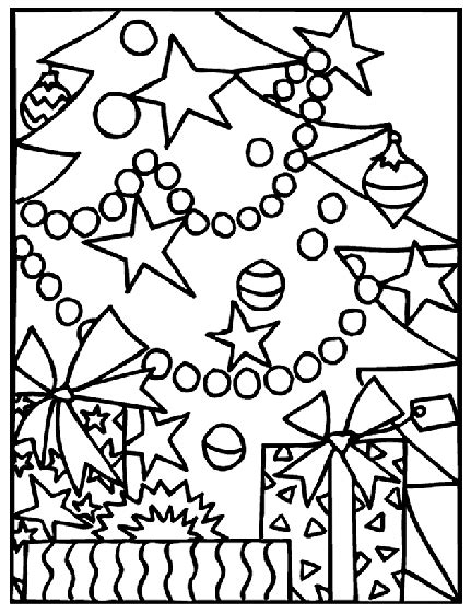 crayola coloring pages for christmas christmas gifts under the tree coloring page crayola com