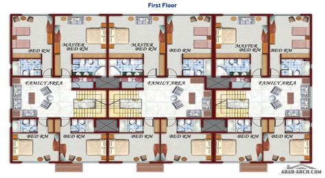 compound floor plans فيلات متصلة makarem compound floor plan 187 arab arch