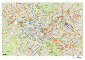 Rome Italy Map by Rome Italy Maps