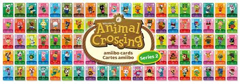 Animal Crossing amiibo Cards   Series Two List