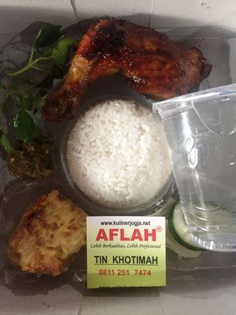 nasi box jogja  harga nasi kotak  aflah catering