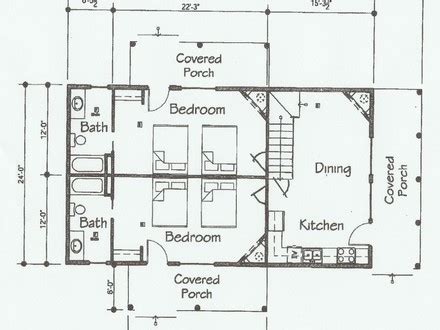 fishing cabin floor plans cabin style house plans craftsman style house floor plans