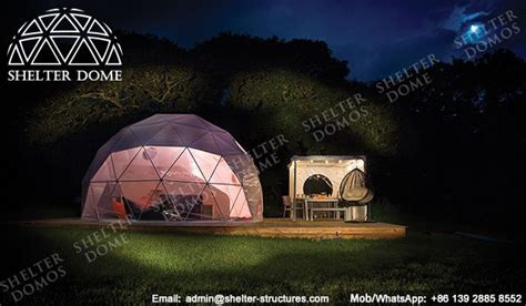Gling Dome | geodesic dome garden room garden ftempo