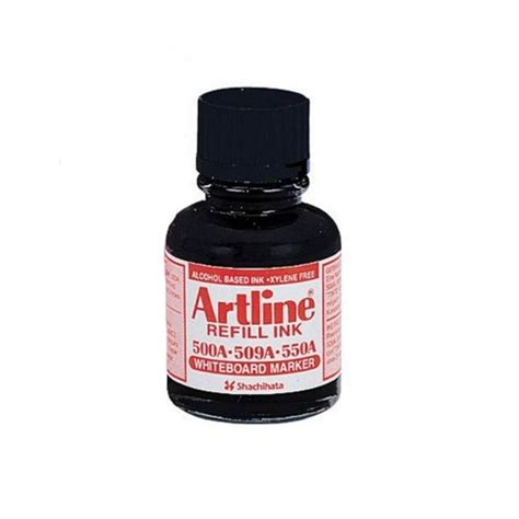 Artline Esk 50 Refill Ink Whiteboard Marker 20 Ml artline whiteboard markers esk 50a refill ink 20ml black