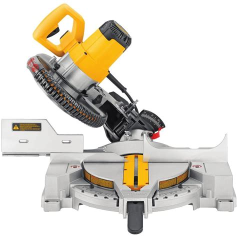 dewalt 15 10 in compound miter saw dw713 the home depot