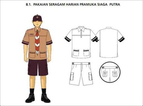 Tanda Harian Pramuka T1310 2 pramuka scout mengenal pramuka siaga