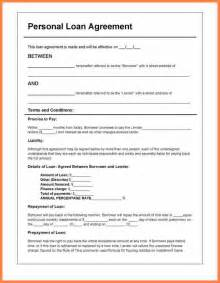 family loan agreement template free doc 12751650 personal loan contracts free personal
