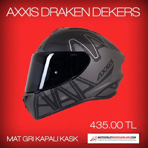 axxis draken dekers kask motosiklet sitesi