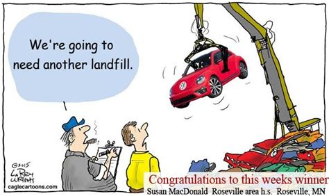 Vw Customer Letter For The Classroom Aaec Association Of American Editorial Cartoonists