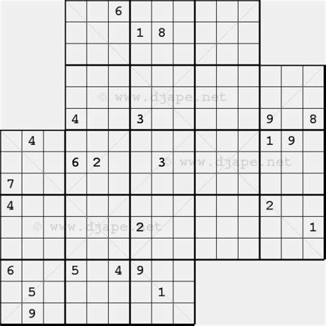free printable triple sudoku sudoku puzzles puzzles and chang e 3 on pinterest