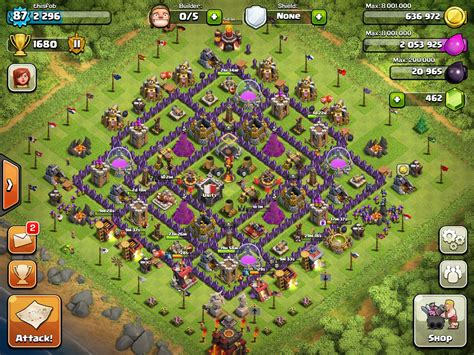 layout for town hall 10 th 10 farming base best myideasbedroom com