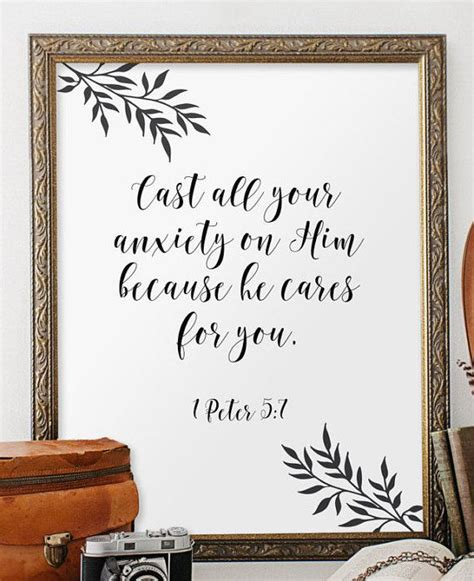 christian wall decor bible verse scripture by