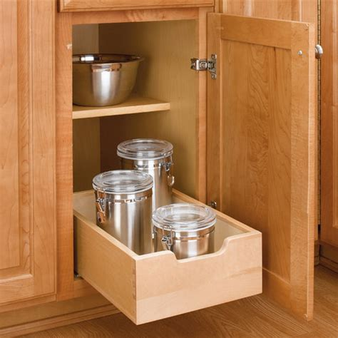 Kitchen Cabinets Pull Out Drawers by Kitchen Base Cabinet Wood Pull Out Drawers W 3 4