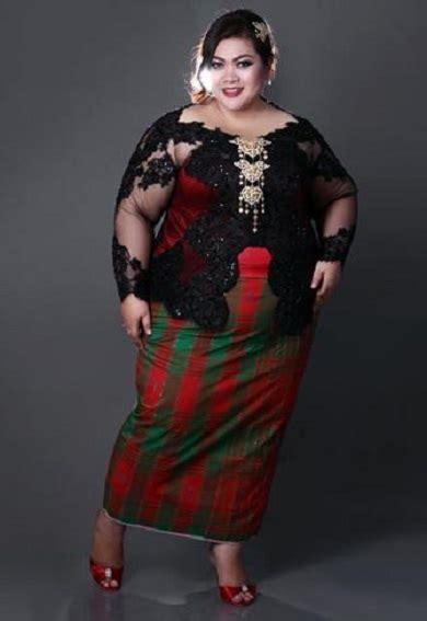 kebaya modern untuk postur tubuh gemuk pendek 17 model kebaya modern untuk wanita gemuk terbaru 2017