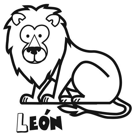 dibujos para colorear de leones actividades infantiles y dibujos de le 243 n para imprimir y colorear dibujos de animales