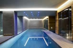 indoor luxury swimming pool surrey modern pool south east by design by guncast