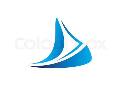 boat drawing symbol sailboat cruise business logo boat icon wind sea travel