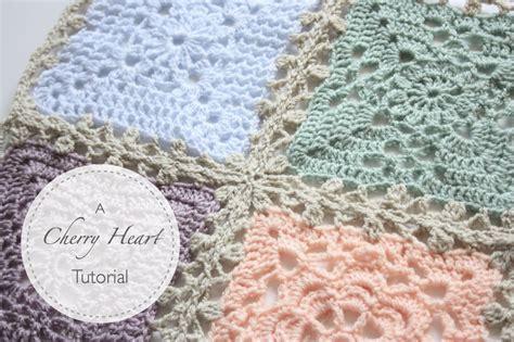 Crochet Pattern Join | lacy blanket join