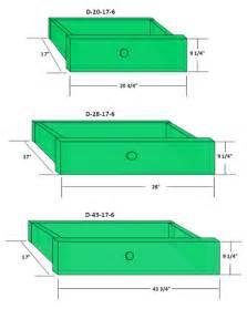 kitchen cabinet drawer dimensions standard size panels
