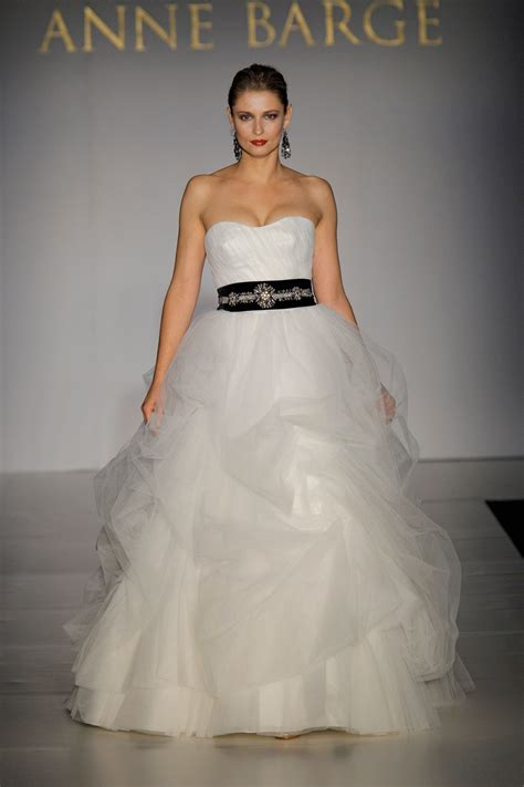 white voluminous tulle gown with sweetheart neckline