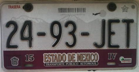 placas estado de mexico placas de autos de m 233 xico y otras cos 999 as taxi del