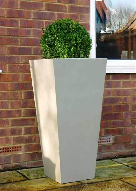 white outdoor planters square white outdoor planters with beautiful