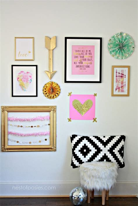 printable wall art ideas valentines gallery wall