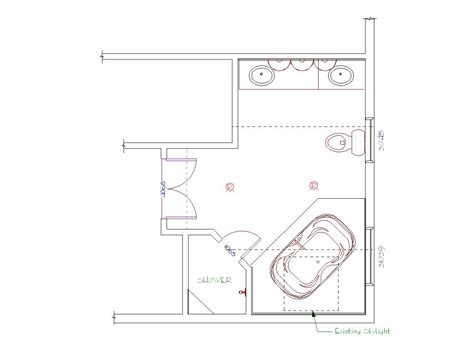 Master Bathroom Floor Plans Master Bathroom Floor Plans Master Bathrooms Bathroom