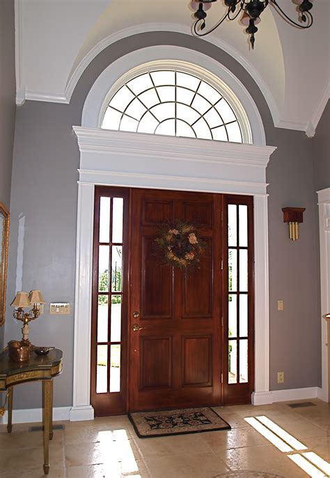 Ideas Windows For Front Door Above Entry Doors Kids Solid Front Door With Window Above