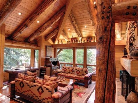 amazing log cabin home  park city utah home design