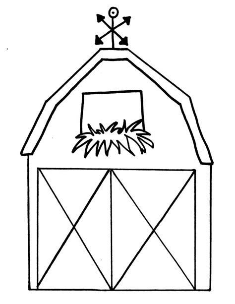 Barn Coloring Pages For Kids Az Coloring Pages Barn Coloring Page