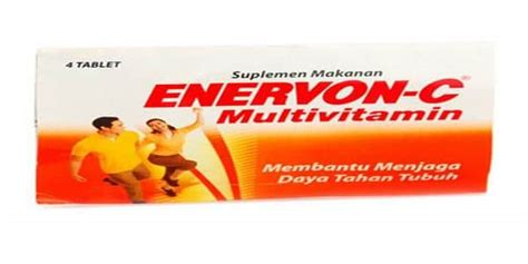 Suplemen Enervon C 10 merk vitamin untuk daya tahan tubuh dewasa terbaik