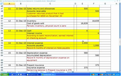 multi step income statement excel template 10 multi step income statement template excel iilaa