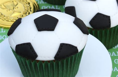 Cheap Home Decorations Football Cupcakes Goodtoknow