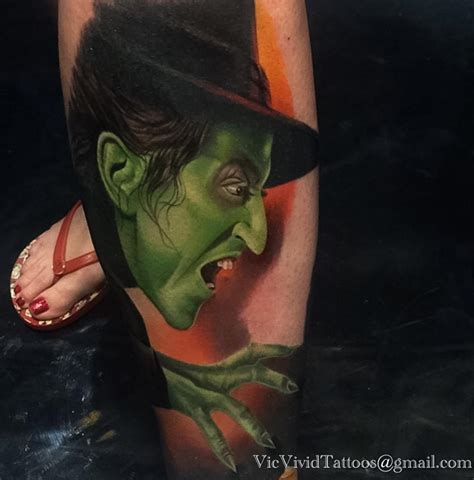 wicked witch of the west best tattoo design ideas