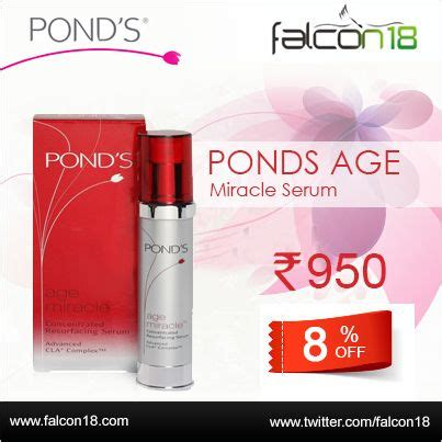 Ponds Age Miracle Serum Review get 8 on pond s age miracle serum falcon18 an