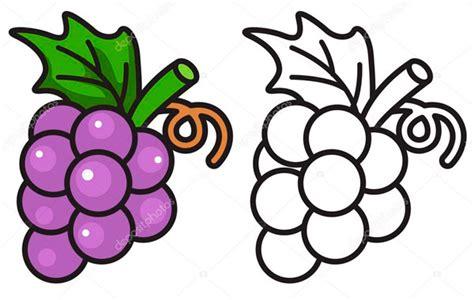 dibujos infantiles uvas 8 dibujos de uva para ni 241 os