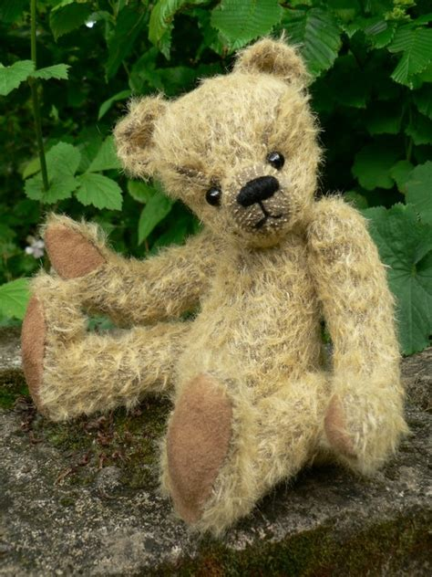Handmade Mohair Bears - handmade teddy bears and raggedies handmade vintage