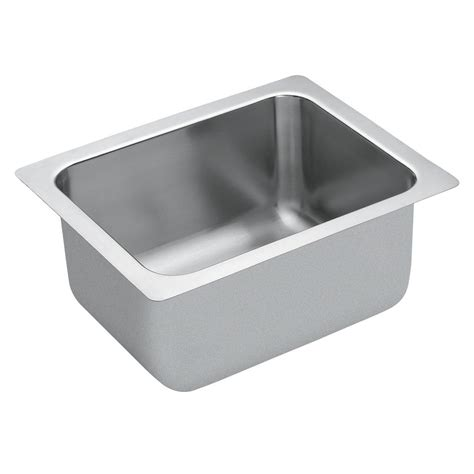 Moen M Dura Commercial Drop In Stainless Steel 20 In Kitchen Sink Hardware