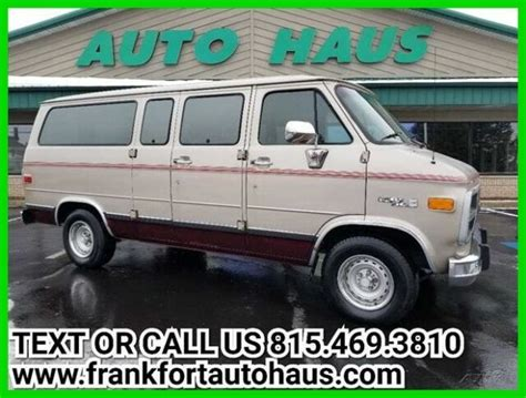 manual cars for sale 1994 gmc rally wagon 3500 transmission control 1994 g2500 used 5 7l v8 16v automatic rwd minivan van classic gmc rally wagon 1994 for sale
