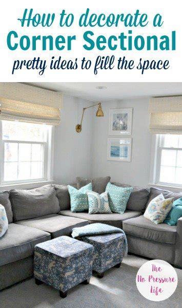 decorate   corner sectional sofa  simple