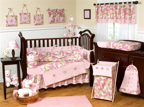 Camouflage Pink Baby Bedding Camo Nursery Decor And Crib Sets Camo Baby Crib Bedding Sets