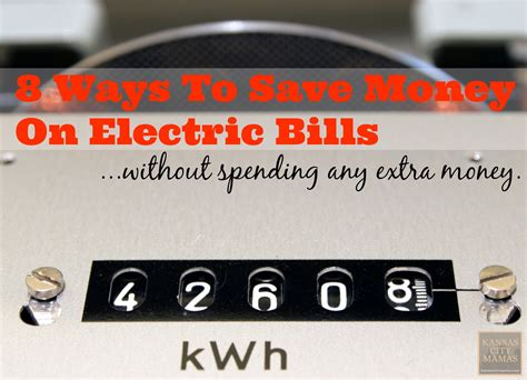 kansas city power and light bill pay save money electric bills without spending ton of cash